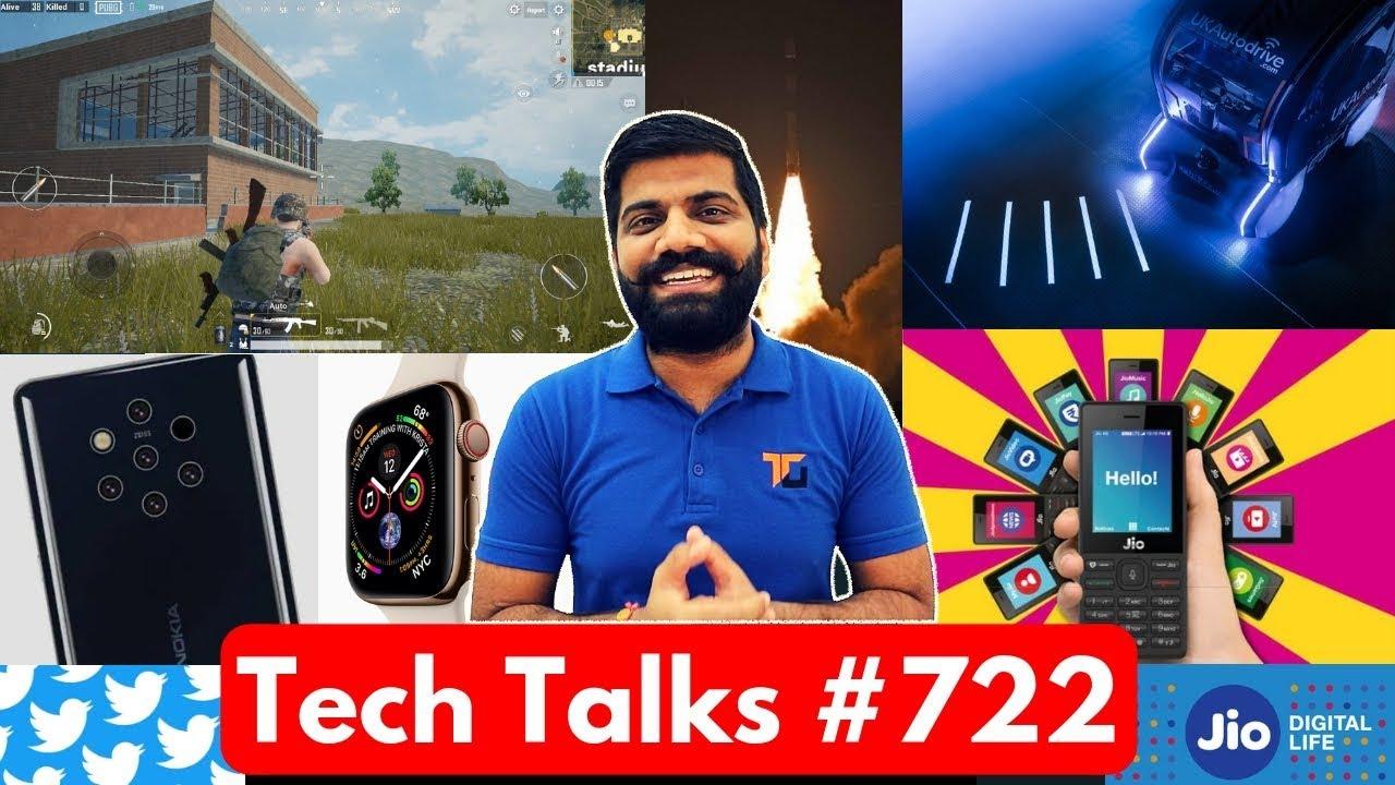 Tech Talks #722 - Redmi Note 7, PUBG LITE Open Beta, 18000mAh Phone, Whatsapp Emoji, Nokia 9 Launch
