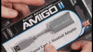 Turtle Beach Amigo II USB Audio Adapter (Review)