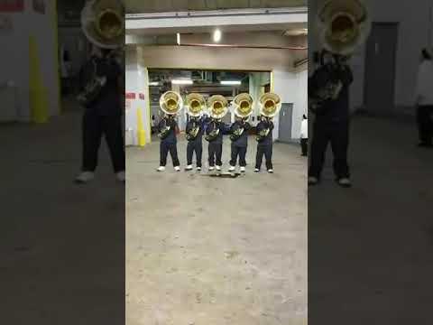Virginia Union University Marching Band Tuba Fanfare Freedom Classic 2018