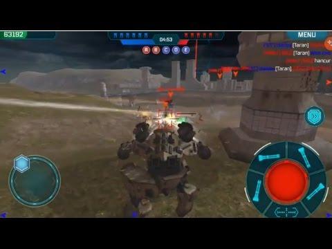 War Robots - Rhino Full Punisher - YouTube