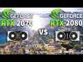 RTX 2070 vs RTX 2080 Test in 9 Games