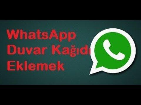 Whatsapp Konuşma Ekranına Duvar Kağıdı Eklemek Youtube