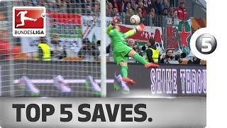 Top 5 Saves -  Leno, Zieler and More with Sensational Stops