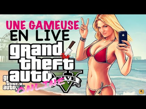 Download UNE GAMEUSE EN LIVE SUR GTA5 :]