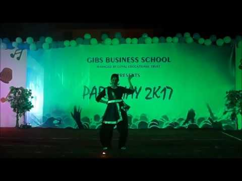 "Dance Performance @ GIBS Fresher's Party - ""PARICHYA2k17"" - Best Business School"