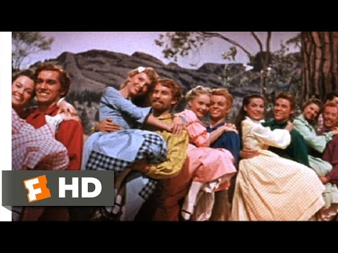 Seven Brides for Seven Brothers 510 Movie CLIP  The Barn Dance 1954 HD