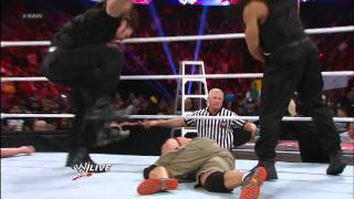 John Cena vs. Big Show: Raw, Dec. 10, 2012