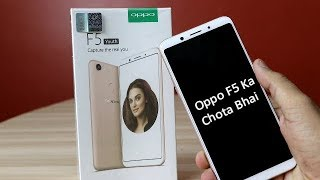 Oppo F5 Youth Unboxing & Overview !! Oppo F5 Ke Chote Bhai Ki Unboxing !! HINDI
