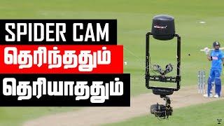 Spidercam   Explained in Tamil