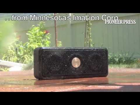 "Minnesota's Imation Corp., which sells TDK-branded wireless speakers, claims this model is ""weatherp"