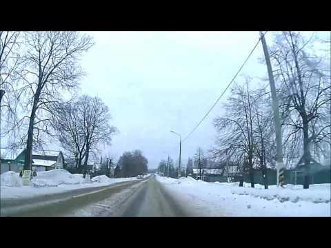 New - Straßen Russlands - Reise durch Russland mit dem Auto - video footage doku 2017