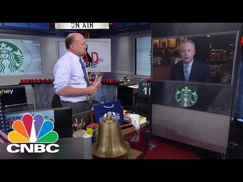 Starbucks COO Kevin Johnson: Strongest Quarter Ever In History | Mad Money | CNBC