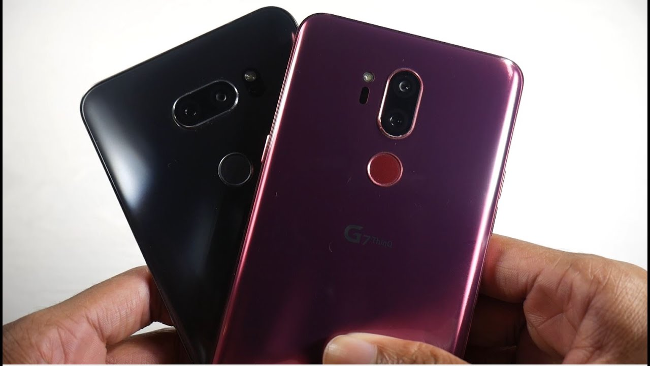 LG G7 VS LG V35 In 2020! (Comparison)