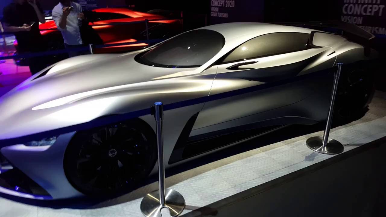 Infiniti Vision GT Walkaround - YouTube