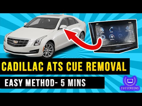2013-2019 Cadillac ATS CUE Removal DIY Screen Replacement