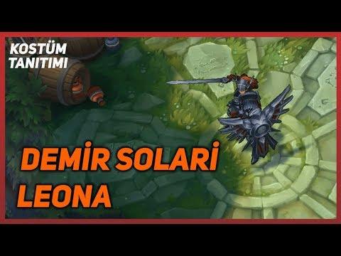 Iron Solari Leona (Skin Preview) League of Legends