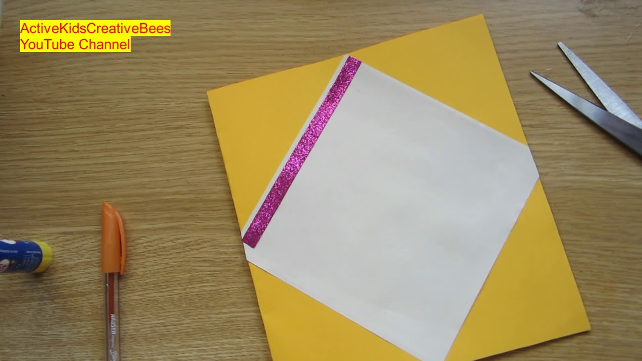 How To Make A Handmade Greeting Card For New Year Happy New Year