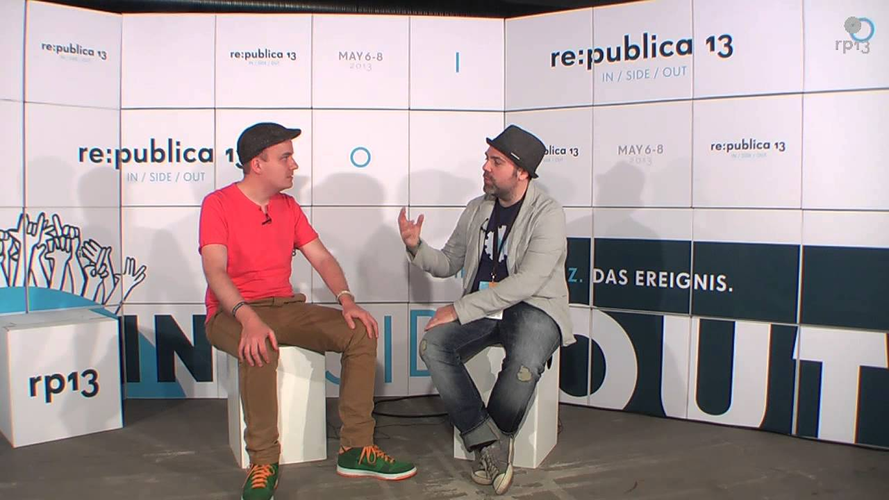re:publica 13 - IN/SIDE/OUT mit Daniel Fiene