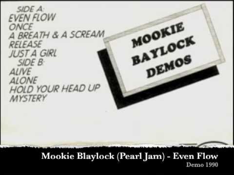 Pearl Jam (Mookie Blaylock) - Even Flow (Demo Recording, 1990)