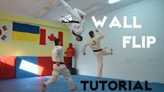 Сальто от стены/видео обучение !!!