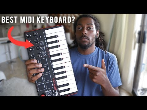 THE BEST MIDI KEYBOARD? Akai Mini MPK Review and Tutorial How to Use