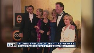 'Brady Bunch' actress Florence Henderson dies at 82