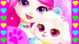 Мультик про собачку и принцессу. Детские мультики про животные. Мультик про щенка.