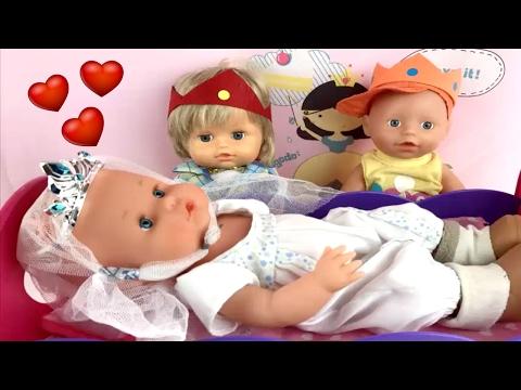 Bebé Nenuco Lola ¿QUIÉN DESPERTARÁ A LA PRINCESA NENUCO?/Los mejores juguetes de nenuco Lola 151