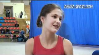Тренировка гимнасток в ДС «Буртасы»