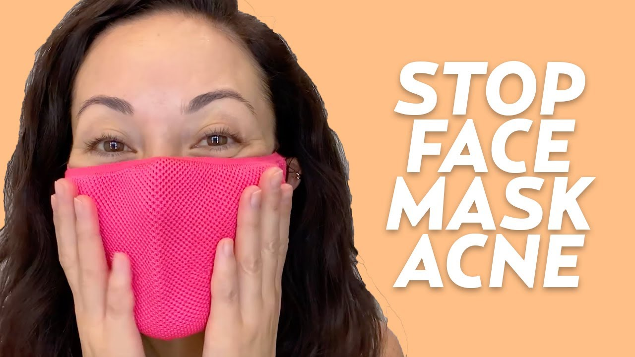 Stop Face Mask Acne With This Skincare Routine (Maskne Tips) | #SKINCARE