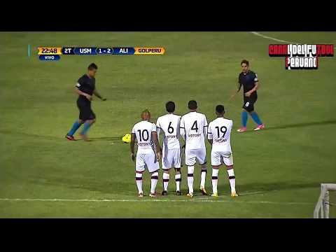 San Martin vs Alianza Lima 1-2 Gol de Aldair Fuentes Torneo Clausura