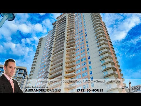 Houston Uptown Condos and Highrises for Sale in the Galleria 77056 - 3505 Sage #1502