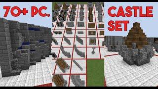 70+ Piece Castle Set in Minecraft