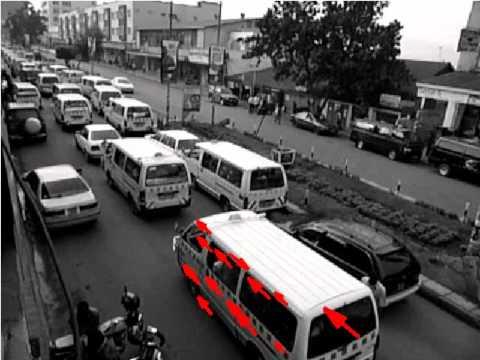 Tracking traffic in Kampala