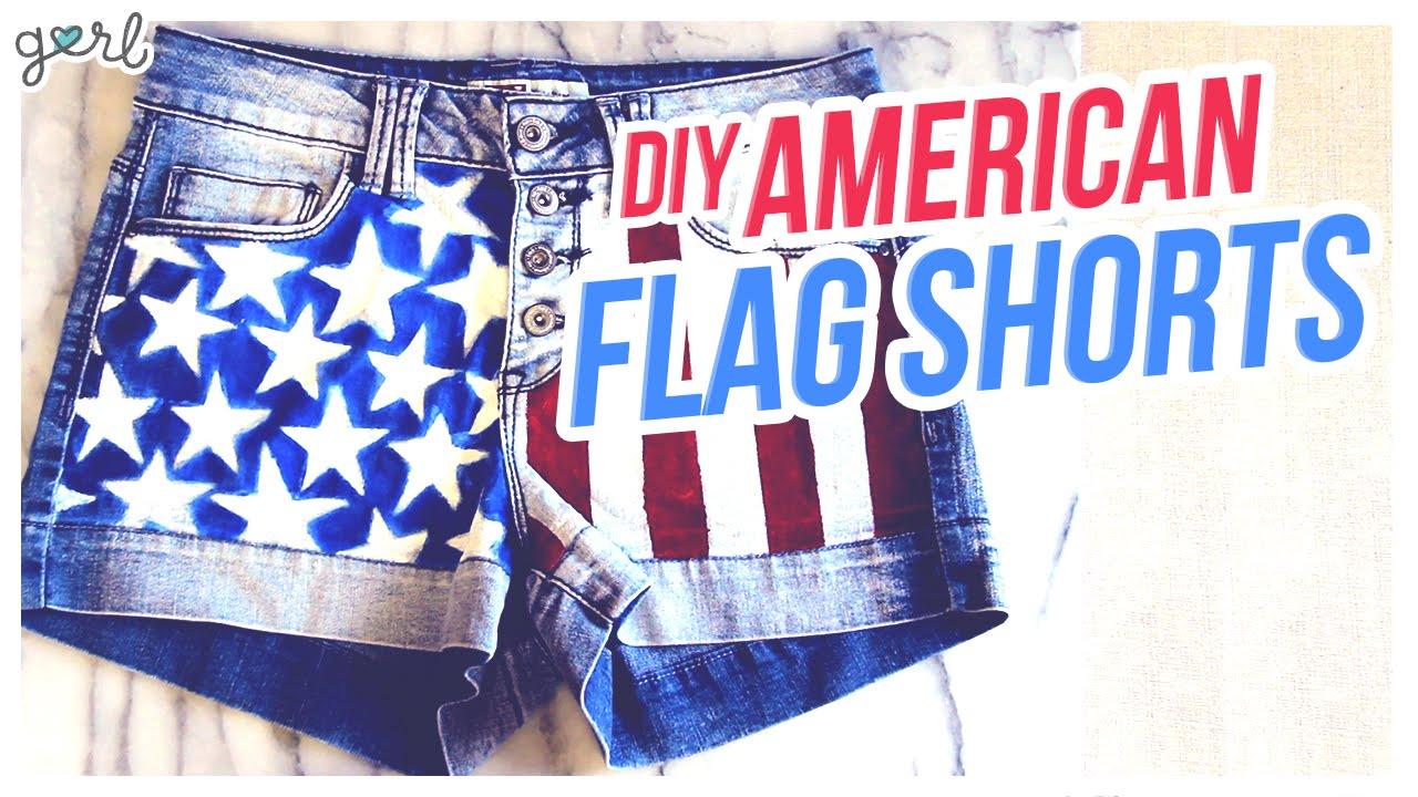 b384c24ccfa8b2 DIY American Flag Shorts – Do It