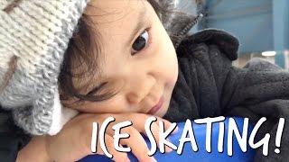 Falling Asleep Ice Skating- April 05, 2017 -  ItsJudysLife Vlogs
