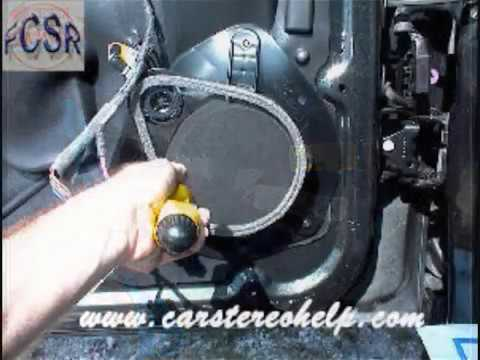 Gmc Envoy Front Speaker Removal Youtube