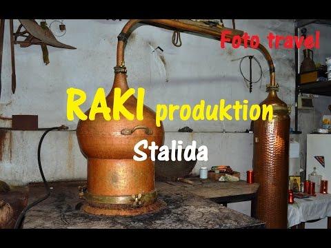 Production of RAKI, Crete, Stalida / Перегонка РАКИ, Крит, Сталида