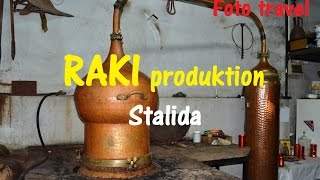 Production of RAKI, Crete, Stalida / Перегонка РАКИ, Крит, Сталида(An interesting excursion to the small shop distilling of traditional Cretan RAKI (tsipuro or tsikoudia) , Stalis. Modern distillation apparatus ensures the production ..., 2014-12-18T20:39:04.000Z)