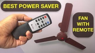 POWER SAVING FAN - Gorilla BLDC with Remote & SUPER CODE - 28 watts only