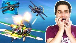 Ik Achtervolg Andere Vliegtuigen in Fortnite Season 7! 😂 - Battle Royale