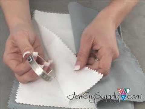 How to use a Polishing Cloth - Jewelry Making