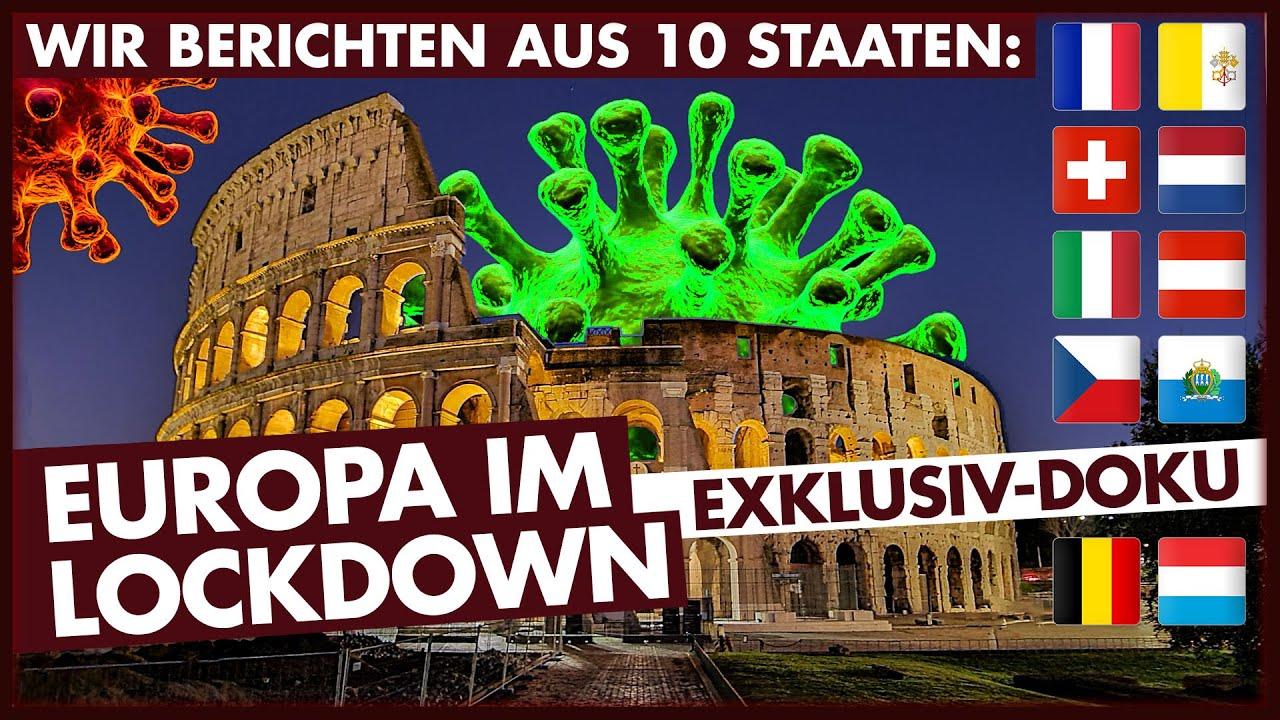 Europa im Lockdown: Die Exklusiv-Doku