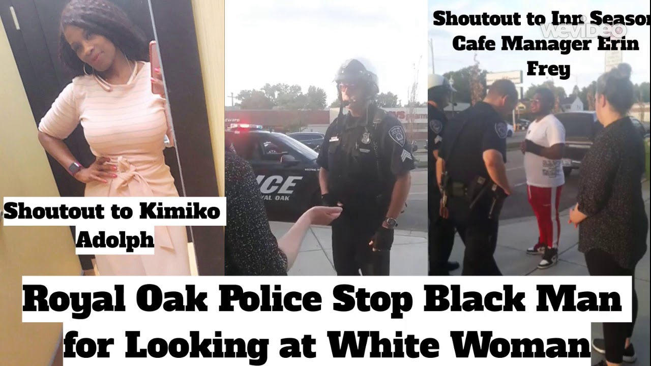Police Stop Black Man for Looking at White Woman