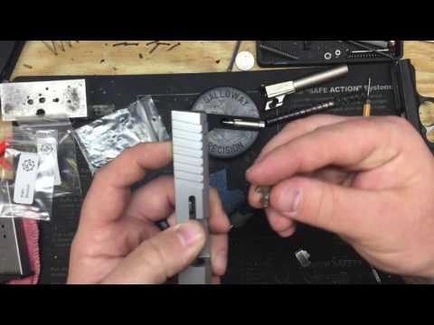 Kahr Striker Guide & Spring Kit Install.