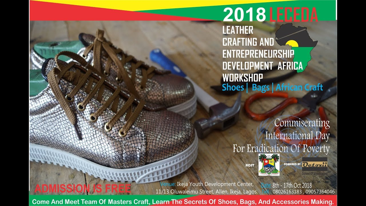 dbf9e24a4add leather crafting and entrepreneurship development africa workshop 2018