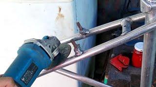 Removing V-BRAKE Bose On Aluminum Bike Frame