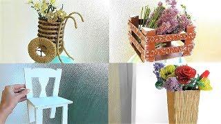 5 ИДЕЙ Декоративных поделок своими руками из разных материалов