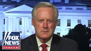 WATCH: Chief of Staff Mark Meadows weighs in on surge in violence US cities