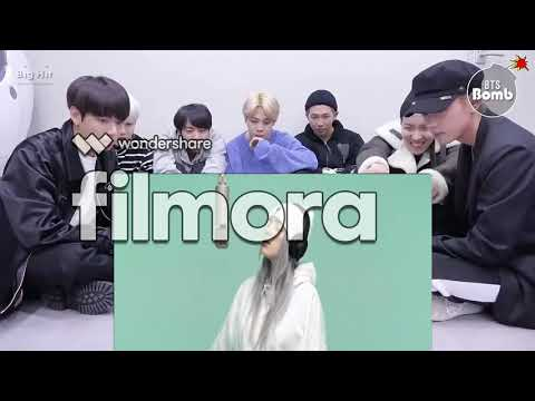 BTS Reaction To Billie Eilish - Idontwannabeyouanymore | A COLORS SHOW